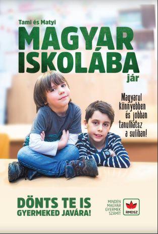Tami és Matyi magyar iskolába jár