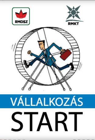 """""""Vállalkozás START - tippek egy sikeres vállalkozáshoz"""" kézikönyv"""