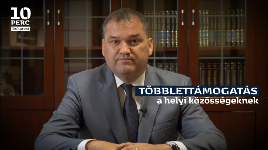 Cseke Attila nyilatkozata a helyi közösségeknek szánt többlettámogatásokról
