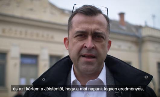 Hajdu Gábor: Ma lehetőségünk van arra, hogy szavazatainkkal visszafoglaljuk a teret, ez által mutassunk erőt