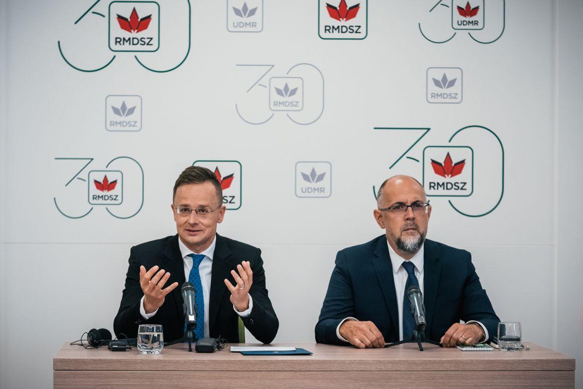 Kelemen Hunor: Szijjártó Péterrel, Magyarország külgazdasági és külügyminiszterével találkoztam kedd délután Kolozsváron