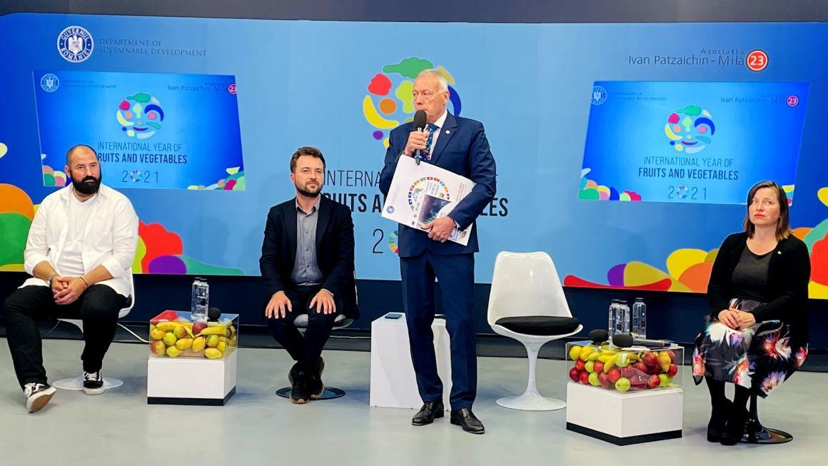 Borbély László: Arra biztatjuk az embereket, hogy minél több gyümölcsöt és zöldséget fogyasszanak, hozzájárulva ezzel az élelmiszer-pazarlás elleni küzdelmhez és a havi költségek csökkentéséhez