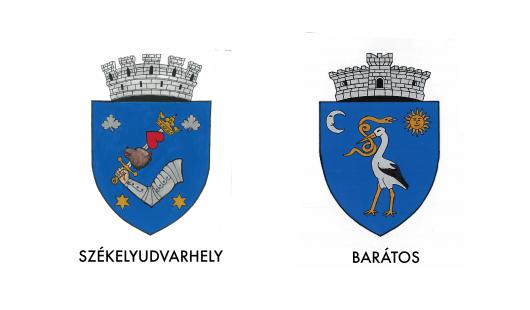 Cseke Attila: Székelyudvarhelynek és Barátosnak hivatalos címere van