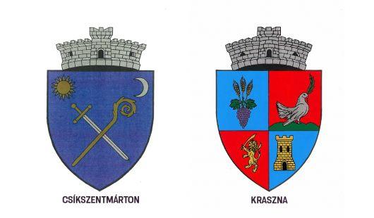 Csíkszentmárton és Kraszna címereiről döntött a kormány