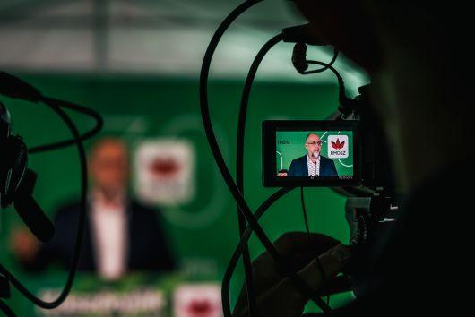 Kelemen Hunor sajtótájékoztatója Kolozsváron