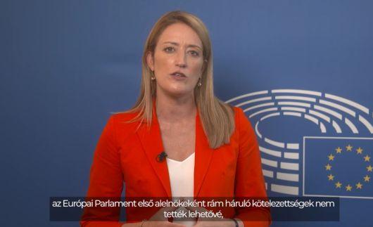 Roberta Metsola, az Európai Parlament első alelnökének üzenete az RMDSZ kongresszusára