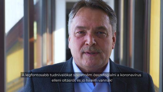 Dr. László Attila az oltással kapcsolatos fontos információkról