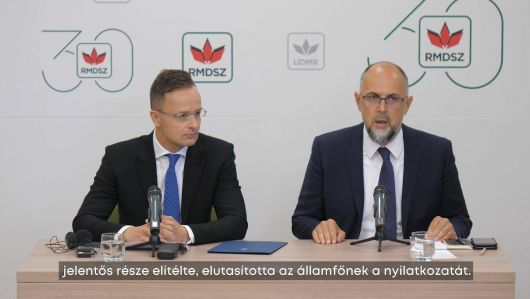 Kelemen Hunor: Klaus Iohannisnak bocsánatot kell kérnie, csak így lehet túllépni a mostani helyzeten