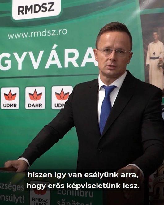 Köszönjük a biztató szavakat Magyarország külügyminiszterének!