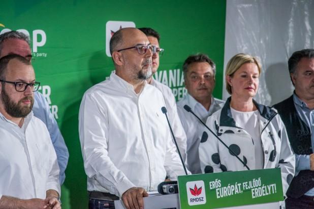 Kelemen Hunor: köszönjük a bizalmat! Erős hangunk lesz az Európai Unióban!