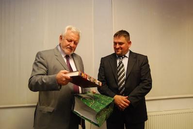 Dávid Lajos kapta a Máréfalváért díjat