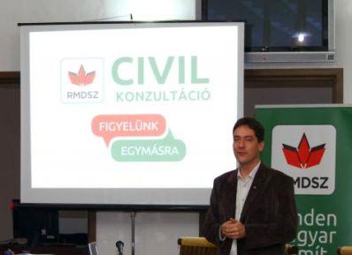 RMDSZ: folytonos támogatás a magyar civil szervezetek számára