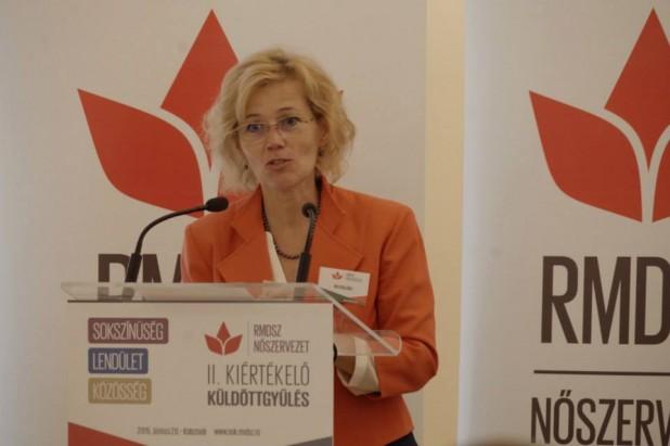 Biró Rozália: az RMDSZ Nőszervezete a kamaszkorba jutott: önállóan, saját hangon szólalunk meg és készülünk a jövő évre