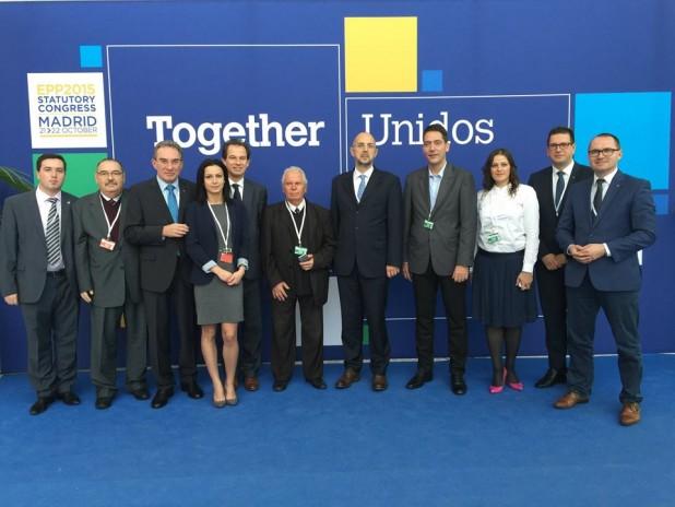 Az Európai Unió értékeit védi az Európai Néppárt (EPP) kongresszusa – Az RMDSZ a magyar közösség szempontjából is fontosnak tekinti a Madridban elfogadott célkitűzéseket