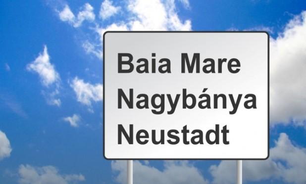 Háromnyelvű helységnévtáblák kihelyezését szavazták meg Nagybányán (AUDIÓ)