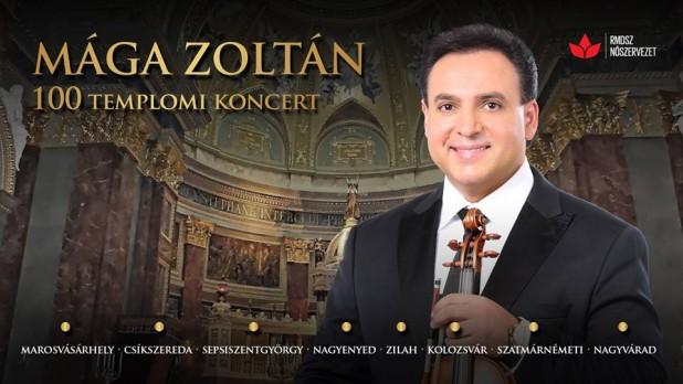 Örömmuzsika Erdélyben – Mága Zoltán jótékonysági koncertsorozat az RMDSZ Nőszervezetének szervezésében