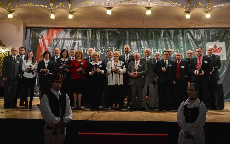A Szövetség kiosztotta a 2015-ös Ezüstfenyő-díjakat (ETV)